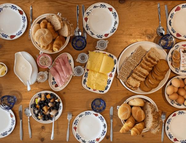 Bewerkt ontbijt